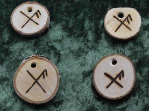 Gibu Auja, rune liée de chance
