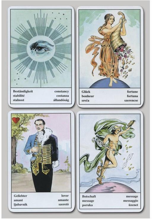 Quelques cartes de l'oracle tzigane.